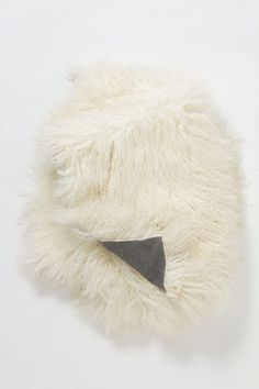 Luxe Wooly Throw #anthropologie