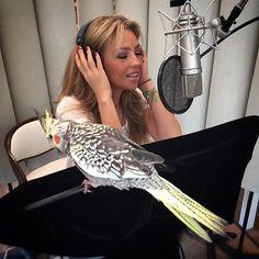 First time @ the studio with the famous #Pikachu A bailar!!! #Pikachu moviendo las plumas con las nuevas canciones!
