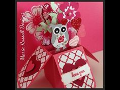 ▶ Valentine Pop-Up Card - YouTube