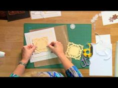 Craft Dies by Sue Wilson -- Tutorial Video; Squared Rectangles for Creative Expressions - YouTube