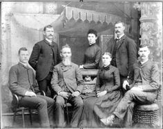 Do you think family photos of the 1880s would have looked less stern if they'd had in-a-flash digital cameras? #saycheese