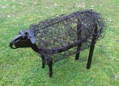 metal sheep sculptures - Google Search