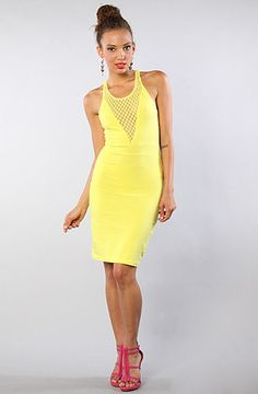 Motel The Sunny Dress in Lemon : Karmaloop.com - Global Concrete Culture