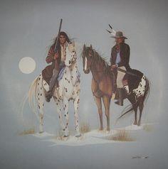 Dana Tiger - Oklahoma - Patrol of the Lighthorse