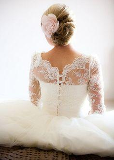Christmas winter wedding dress choice