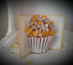 Hey, I found this really awesome Etsy listing at https://www.etsy.com/listing/575565020/book-sculpture-altered-book-book-bouquet