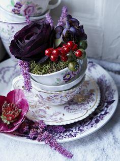 ♔ Autum tea.