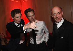 Benedict + Eddie + J.K. Simmons