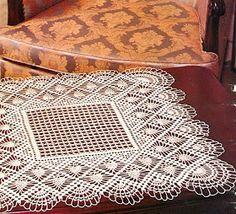 Kira scheme crochet: Scheme crochet no. Crochet Table Runner Pattern, Crochet Tablecloth, Tatting Patterns, Crochet Stitches Patterns, Crochet Ripple, Crochet Diagram, Filet Crochet, Crochet Motif, Diy Crafts Crochet