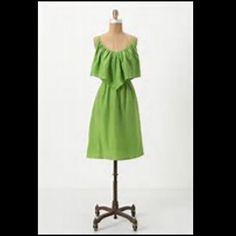 Antro Silk Ruffel Tank Dress