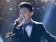 """The Voice Kids Philippines Grand Finals """"NGAYON"""" by DARREN"""" July 26 2014 the total performer darren espanto got to voice with a oustanding ovation,people very proud of them excellent talent. Espanto, Finals, Philippines, The Voice, Baby Boy, Celebs, Boys, Music, People"""