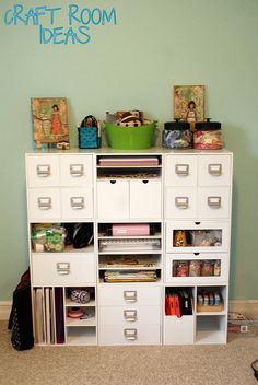Modular organization system.  Great for craft rooms, offices etc...