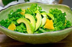 Salada de abacate e alface com laranja | SAPO Lifestyle