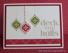 Mosaic Madness Christmas - Deb's Stampin' Grounds at debrasimonis.stampinup.net by ivy