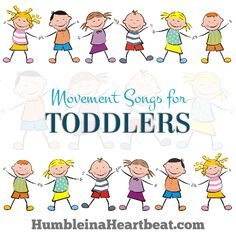 Don't miss these 10 fun movement songs for toddlers you can find on YouTube! They are great for a dance party or getting the wiggles out!