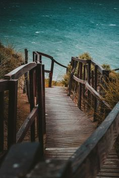 Find images and videos about beach, travel and ocean on We Heart It - the app to get lost in what you love. California Dreamin', Natural World, Pathways, Garden Bridge, Summer Beach, Sea Shells, Exterior, Outdoor Structures, Vacation