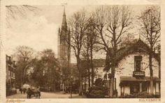 Hilversum - Emmastraat met Vituskerk
