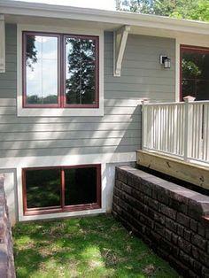 81 Best Red Window Framed Homes Images In 2019 Craftsman
