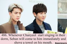 Exo Facts #486 ♥