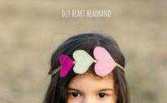 DIY: heart headband