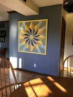 Sunburst 4ft X4ft from American Garden Barn Quilts