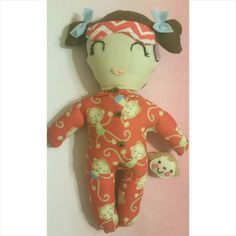 Hey, I found this really awesome Etsy listing at https://www.etsy.com/listing/232567756/sleepy-time-baby-doll-brown-hair