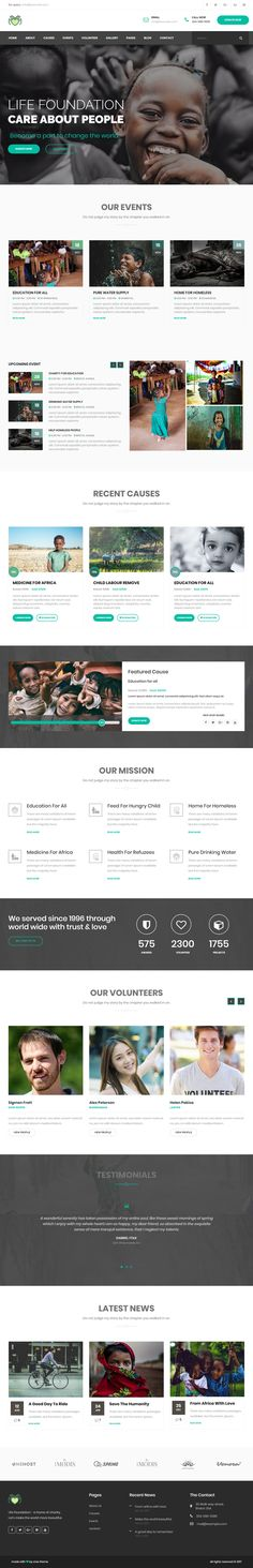 Life is Premium full Responsive Retina #ParallaxHTML5 Template. Bootstrap 3 Framework. If you like this Charity Template visit our handpicked list of best #FundraisingTemplates at: http://www.responsivemiracle.com/best-responsive-fundraising-html-templates/