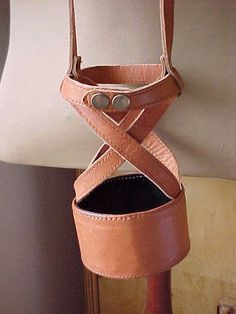 bottle holster leather - Google Search
