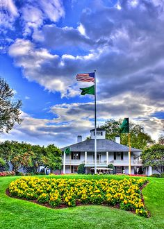 Augusta National - where I'd love to be today! Remember me next year with your tickets! Masters Golf Tournament.