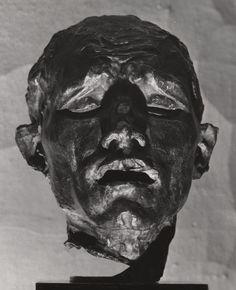 Auguste Rodin /  Head of Pierre de Wissant / 1889 / bronze
