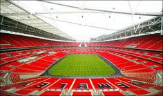 The 5 Most Expensive Stadiums On Earth Wembley Arena, Wembley Stadium, England Football, Fulham, World Traveler, Great Britain, The Good Place, Places To Visit, Fair Grounds