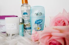 HOW TO STAY FRESH - AND WHAT TO USE! #ad | The Red Closet Diary | Instagram: @ jalynnschroeder | secret deodorant, beauty, stay fresh, blue hair, FTD Boutique, La Fresh Limited Edition Waterproof Makeup Remover Wipes, Tree Hut Bare Moisturizing Shave Oil, 21 Drops Detox Essential Oil Blends