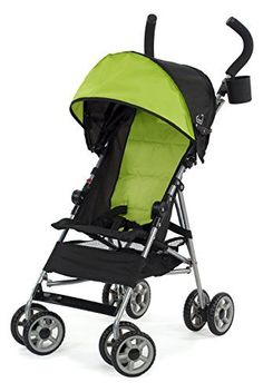 #manythings.online DELIVERY ALERT: This item ships in its original packaging and may be visible upon delivery! #Kolcraft Umbrella Stroller - Spring Green The Clo...