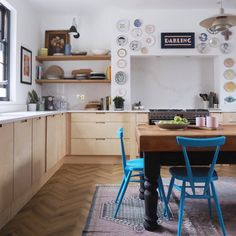 We found a Victorian terrace in Caversham, perfectly located only two minutes from the Kitchen Styling, Kitchen Decor, Kitchen Design, Furniture Village, Table Furniture, Moving House, High Quality Furniture, Scatter Cushions, Sustainable Design
