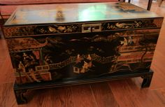 Chinoiserie Trunk