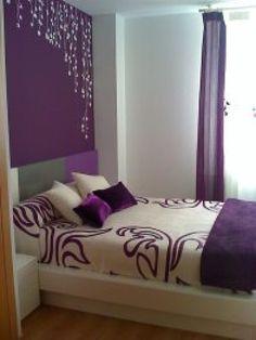 habitaciones matrimoniales pintadas con 2 colores - Buscar con Google