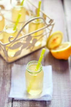 Kéfir de citron avec une touche de miel - Livre «Mes recettes détox super-gourmandes» de Marie Chioca
