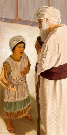 Il piccolo Samuele parla al sommo sacerdote Eli