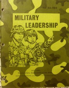 Military Book - Military Leadership - July 1990 - Paperback