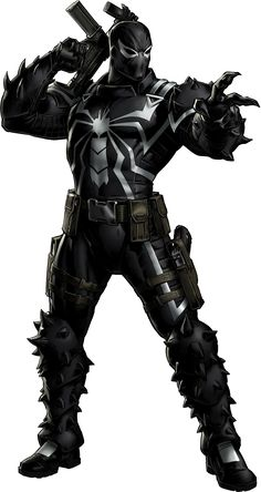 (Marvel) Flash Thompson AKA Agent Venom Trap Music Radio http://www.slaughdaradio.com