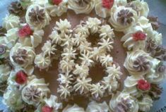 Vanilkový a kakaový krém na dorty, řezy, věnečky Cooking Tips, Baking, Bakken, Backen, Sweets, Pastries, Cooking Hacks, Roast
