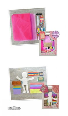Our designer tutu activity kit lets you make your own tulle skirt so you can dress up in style. Perfect for designers and fashionistas alike!