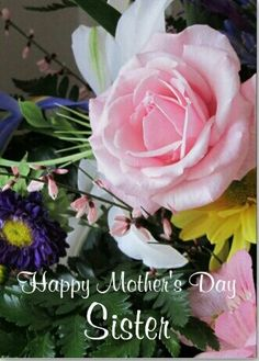 Animated happy mothers day animated mothers day cards and flowers shop happy mothers day sister pink rose bouquet card created by avisnoelledesigns m4hsunfo