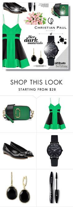 """Preppy"" by sans-moderation ❤ liked on Polyvore featuring Marc Jacobs, David Koma, Rupert Sanderson, Effy Jewelry, Lancôme, contemporary and christianpaul"