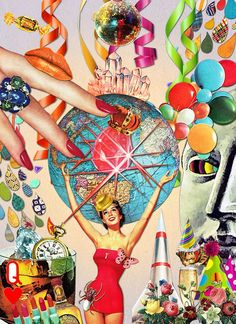 Eugenia Loli Collage - Party Time