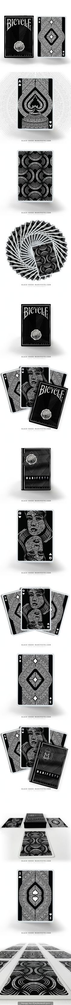 The Black Book Manifesto : A Typographic Deck