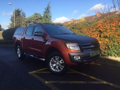 USED 2013 13 FORD RANGER 3.2 WILDTRAK 4X4 DCB TDCI AUTO One Owner, Automatic Wildtrak ...