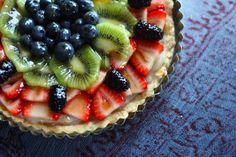 I want to make individual tarts in muffin tins... looks pretty and pretty easy and delicious.