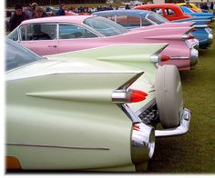 1959, the ultimate fins ☼ <3 the old Cadillacs