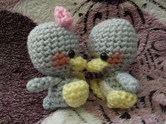 Grey Duckies Free pattern (-^.^-)